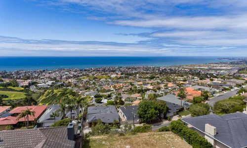 Ocean View Lot in San Clemente Listed by Mark & Christe Roknich